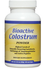 Bioactive Colostrum Powder - 2.1 oz by WellWisdom