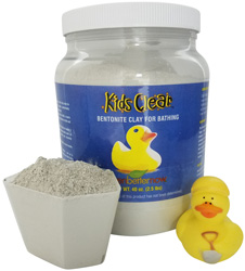Kids Clear Cleansing Clay Baths (2.5 lb jar)