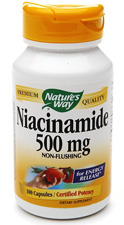 Niacinamide Non-Flushing - 500 mg by Nature's Way