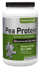 "Pea Protein ""Bloat-Free"" Unflavored/Unsweetened - 2 lb"