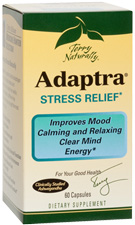 Adaptra Stress Relief - 60 Capsules by Terry Naturally