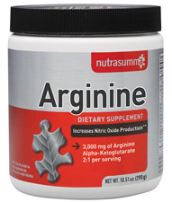 Arginine 3000 mg, 10.51 oz by NutraSumma