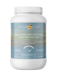 BigHorn Mountains Indian Healing Clay All-In-One Cleansing Clay Powder