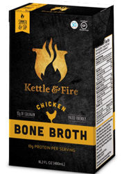 Chicken Bone Broth, 16.2 oz by Kettle & Fire