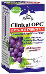 Clinical OPC Extra Strength 400mg 60 Softgels by Terry Nautrally