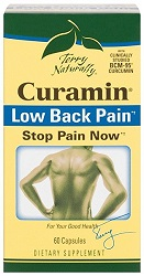 Curamin Low Back Pain, 60 Caps by Terry Naturally