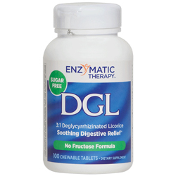 DGL (Deglycyrrhizinated Licorice), 100 Chewables