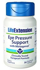 Eye Pressure Support w/ Mirtogenol, 30 Caps by LEF