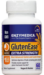 GlutenEase Extra Strength, 60 Caps by Enzymedica