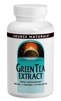Green Tea Extract 500mg by Source Naturals