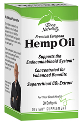 Hemp Oil by Terry Naturally - 30 Softgels