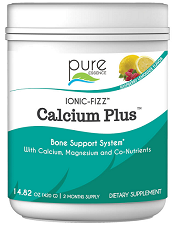 Ionic-Fizz Calcium Plus Raspberry Lemon 420 gram by Pure Essence Labs