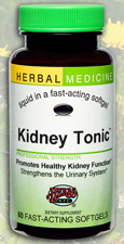 Kidney Tonic 60 Softgels by Herbs Etc.
