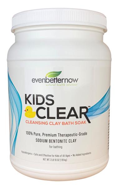 Kids Clear Cleansing Clay Baths from Evenbetternow, LLC