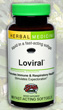 Loviral Respiratory Expectorant, 60 Softgels by Herbs Etc