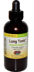 Lung Tonic Respiratory Support, 4 oz by Herbs Etc
