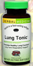 Lung Tonic Respiratory Support, 60 ct by Herbs Etc