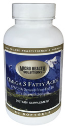 Omega 3 Fatty Acids, 60 Softgels