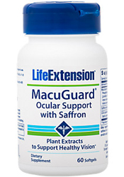 MacuGuard Ocular Support, 60 Softgels by LEF