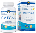 Omega-3 Purified Fish Oil, 120 Softgels by Nordic Naturals