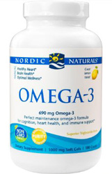 Omega-3 Purified Fish Oil - 60 Softgels