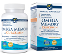Omega Memory with Curcumin, 60 Soft Gels