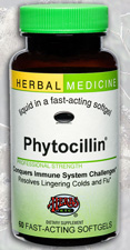 Phytocillin 60 Softgels by Herbs, Etc.