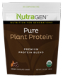 Pure Plant Protein Chocolate 1.97 lbs by Nutragen