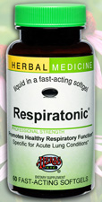 Respiratonic Expectorant, 60 Softgels by Herbs Etc.