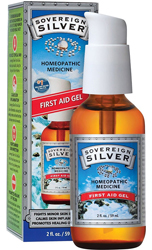 Sovereign Silver First Aid Gel 2 oz