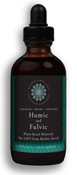 The Gift Fulvic & Humic Concentrate 4oz Dropper