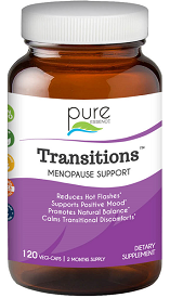 Transitions Menopause Support, 120 Vegi-Caps by Pure Essence Labs