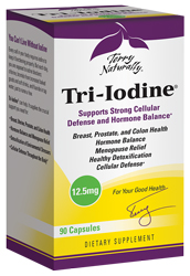Tri-Iodine 12.5 mg, 90ct by Terry Naturally