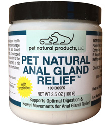 Pet Natural Anal Gland Relief 3.5 oz by Pet Naturals