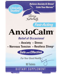 AnxioCalm, 90 Tablets by Terry Naturally