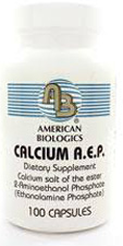 Calcium AEP 100 Capsules by American Biologics