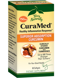 CuraMed 750 mg - 60 Softgels by Terry Naturally