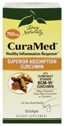CuraMed 750 mg - 120 Softgels by Terry Naturally