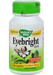Eyebright Herb 430 mg 100 Vegetable Capsules by Nature's Way