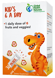 Kid's 6 A Day, 30 Packets by Global Health Naturals