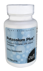 Trace Elements Potassium Plus II 90 Tabs