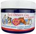 Red Desert Clay for Pets, 7oz - Detox & Remineralization