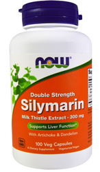 Silymarin Milk Thistle Extract 300mg, 50 ct by NOW Foods