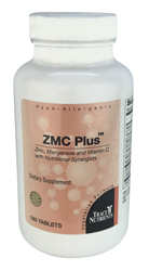 Trace Elements ZMC Plus 180 Tablets